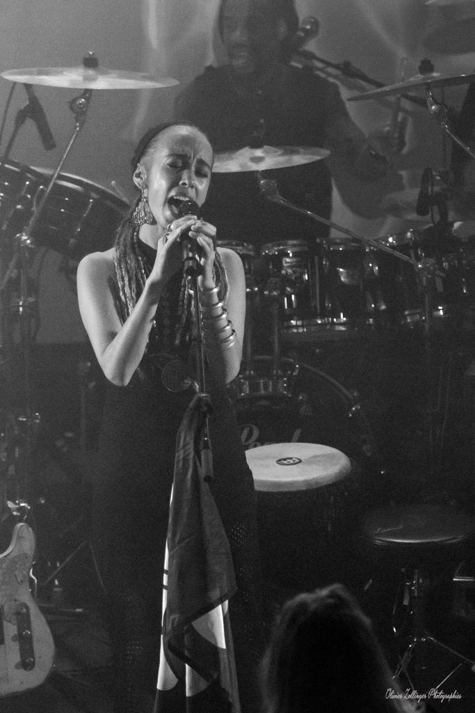 Concert Nattali Rize à la Poudrière Oct 2018