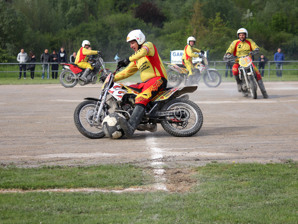 Motoball Voujeaucourt 2014