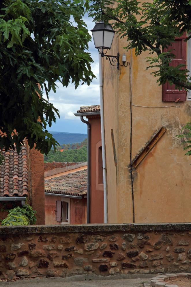 Roussillon et carrières d'ocre 2014