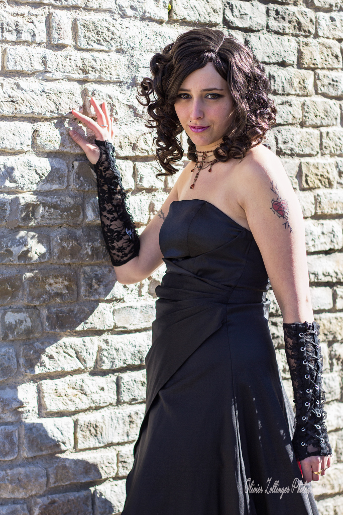 Shooting avec Ophélie théatre romain 2015